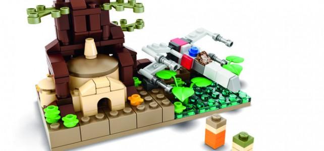 SDCC 2015 LEGO Star Wars Exclusive Dagobah Set