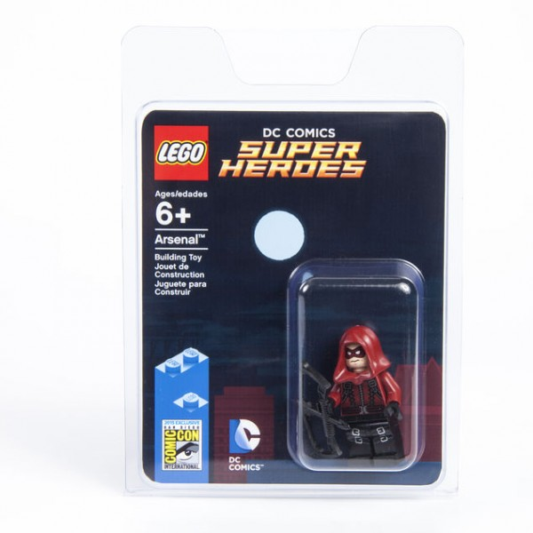 SDCC 2015 exclusive minifig Arsenal box