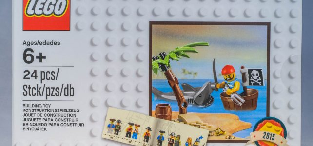 REVIEW LEGO 5003082 – Exclusive – Classic pirate minifigure