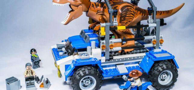 REVIEW LEGO 75918 – Jurassic World – La poursuite du T-Rex