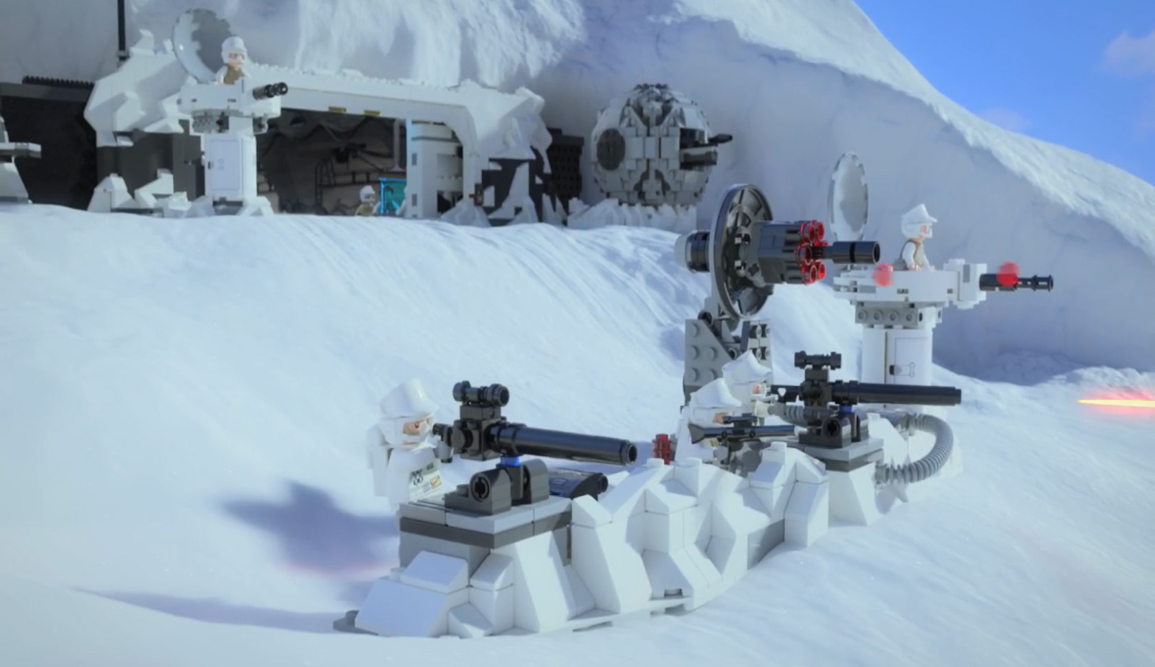 75098 assault on hoth quelques infos hellobricks blog lego. Black Bedroom Furniture Sets. Home Design Ideas