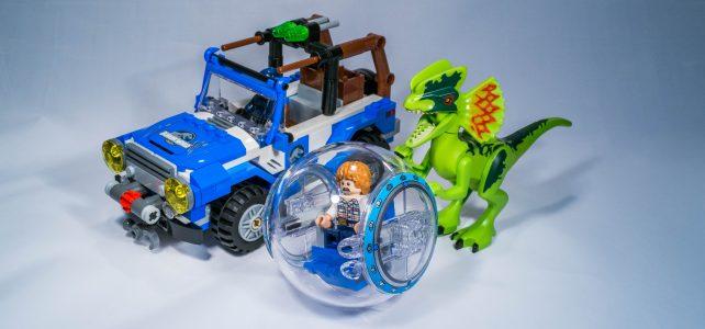 REVIEW LEGO 75916 – Jurassic World – L'embuscade du Dilophosaure