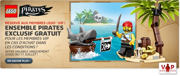 Set exclusif LEGO Pirates
