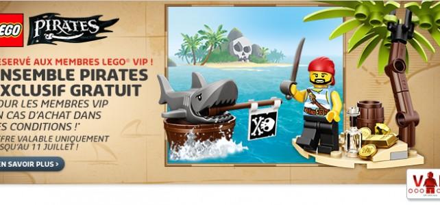 Set exclusif LEGO Pirates