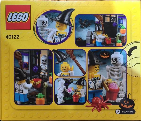 40122 LEGO Seasonal Halloween Trick or Treat back