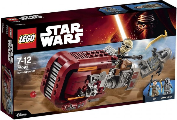 75099 Rey's Speeder box
