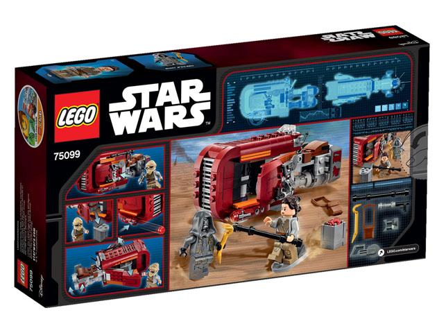 75099 Rey's Speeder box back
