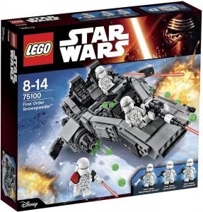 75100 First Order Snowspeeder box bons plans LEGO