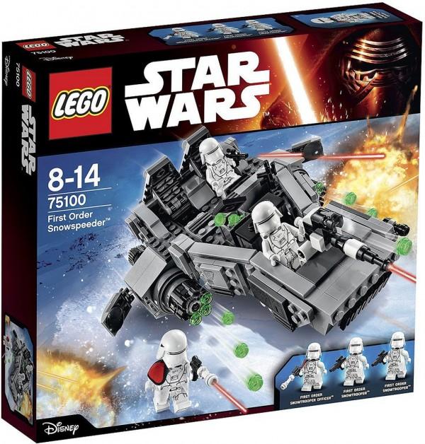 75100 First Order Snowspeeder box