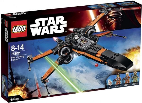 75102 Poe's X-Wing Starfighter box
