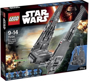 75104 Kylo Ren's Command Shuttle box