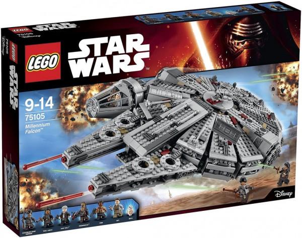75105 Millennium Falcon box