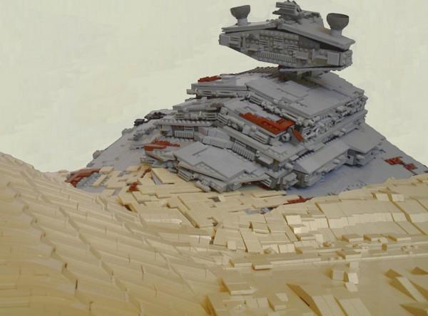 Episode VII-The Force Awakens-Apoca Star Destroyer on Jakku zoom