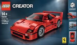 Creator Expert 10248 Ferrari F40