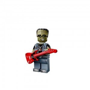 LEGO Collectible Minifigures Series 14 Monsters (71010) Monster Rocker