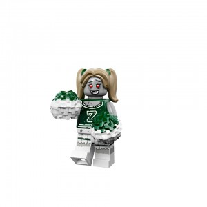 LEGO Collectible Minifigures Series 14 Monsters (71010) Zombie Cheerleader