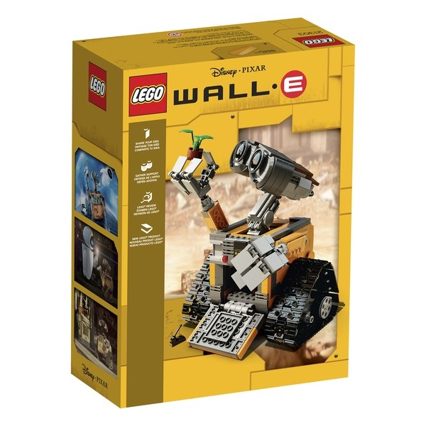 LEGO Ideas #011 WALL•E (21303) back