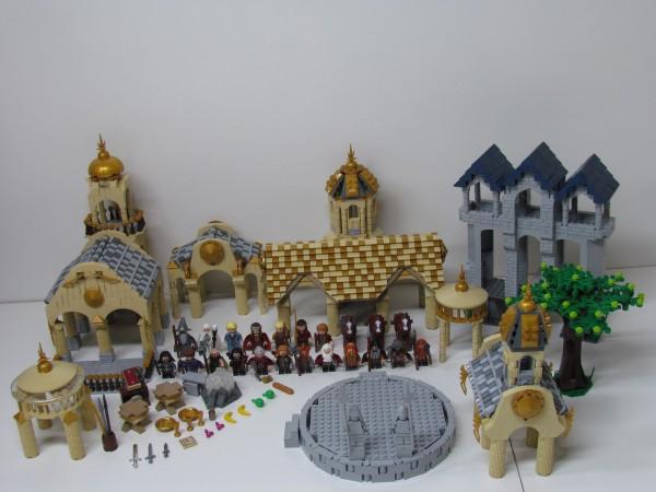 LEGO Ideas Rivendell détail