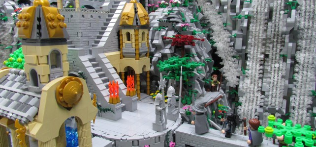 Rivendell (The Hobbit) atteint les 10.000 votes sur LEGO Ideas