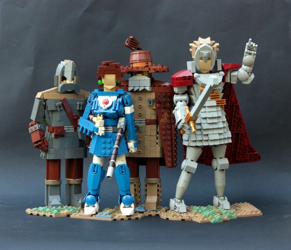 Nausicaä of the Valley of the Wind characters