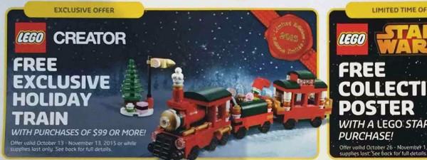 LEGO Holiday train 40138