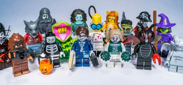 "REVIEW LEGO Collectible Minifigures series 14 – ""Monsters"""