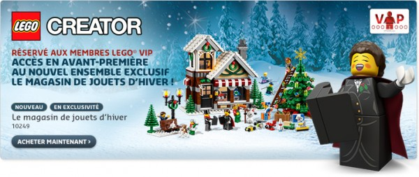 LEGO 10249 toyshop winter village