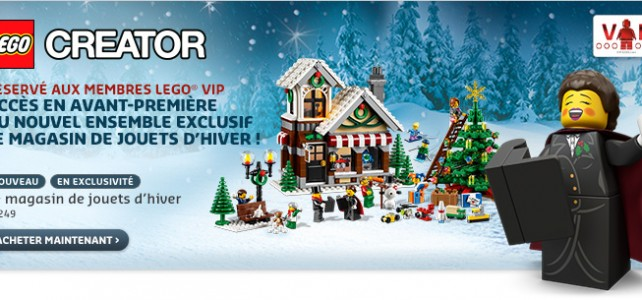10249 toyshop winter village