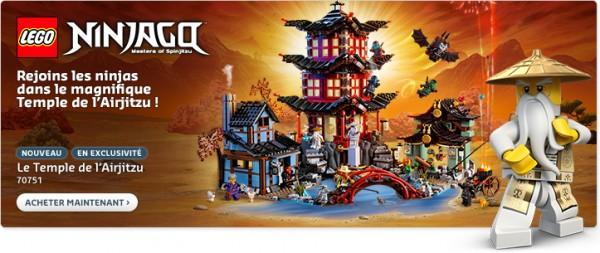 70751 LEGO Ninjago Temple Airjitzu