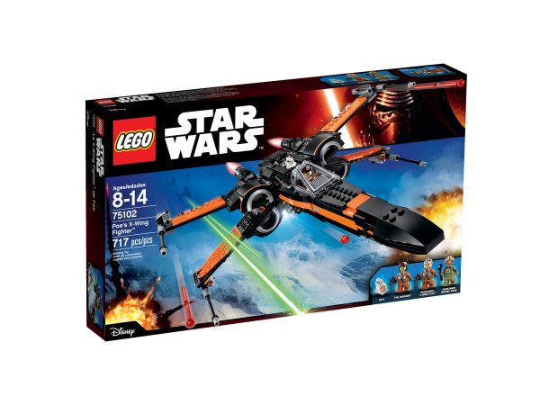 75102 Poe's X-Wing Fighter box