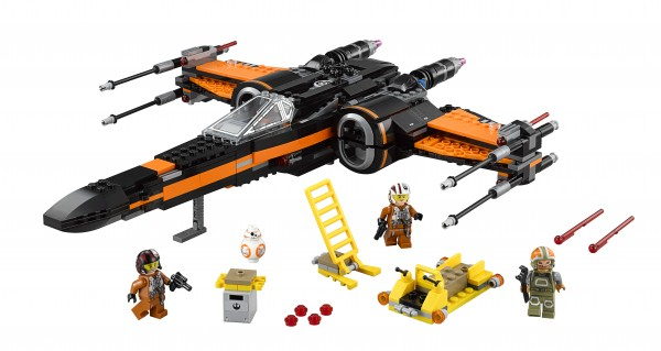 75102 Poe's X-Wing Starfighter