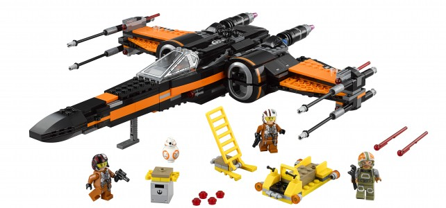 75102 Poe's X-Wing Starfighter