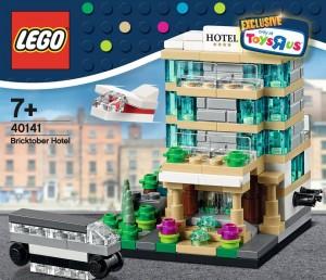 LEGO Bricktober 40141 Bricktober Hotel 00