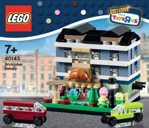 LEGO Bricktober 40143 Bricktober Bakery 00