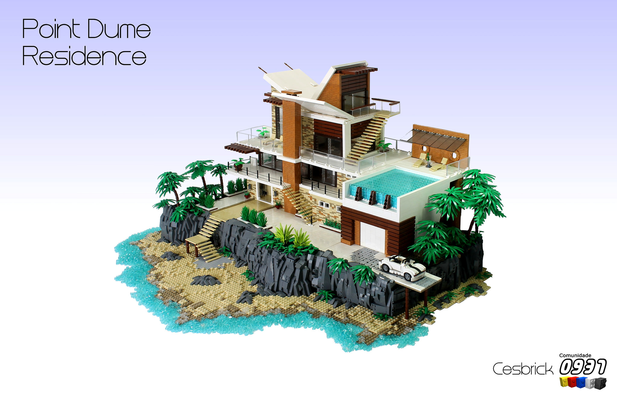 Une villa de r ve hellobricks blog lego for Une villa de reve