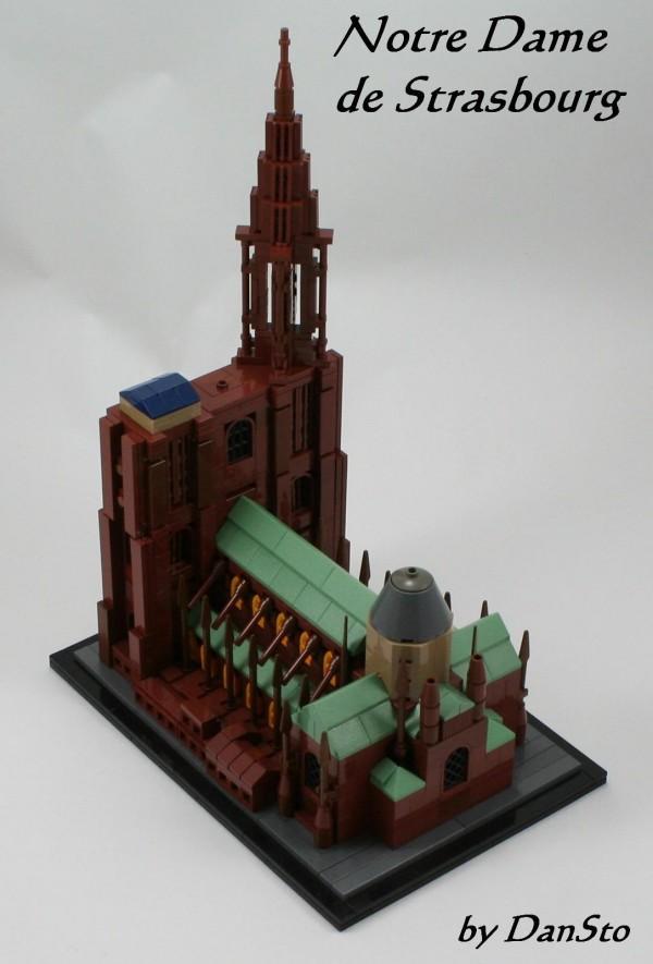 Notre Dame de Strasbourg (LEGO Architecture)