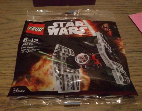 Polybag Star Wars TFA First Order Special Forces TIE Fighter (30276)