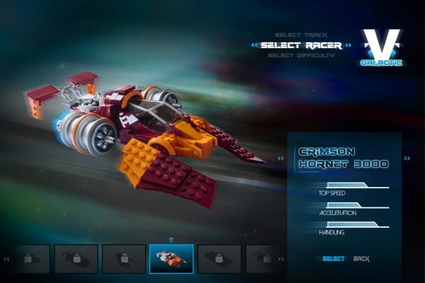 V-Galactic Racing Crimson Hornet 3000
