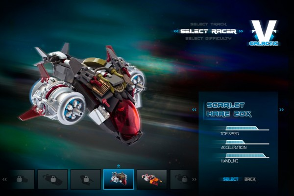 V-Galactic Racing Scarlet Hare 20X