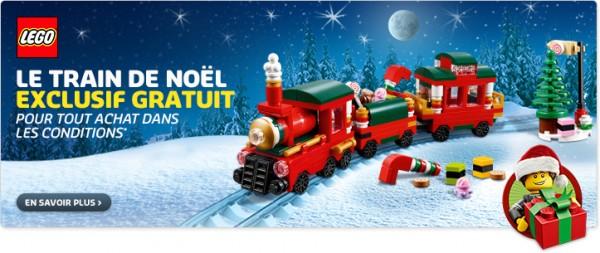 Train de Noel 40138 LEGO