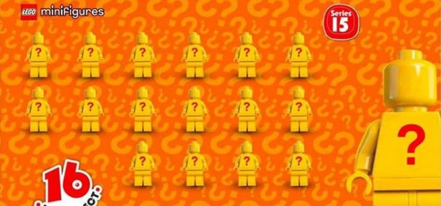 Collectible Minifigures series 15 71011