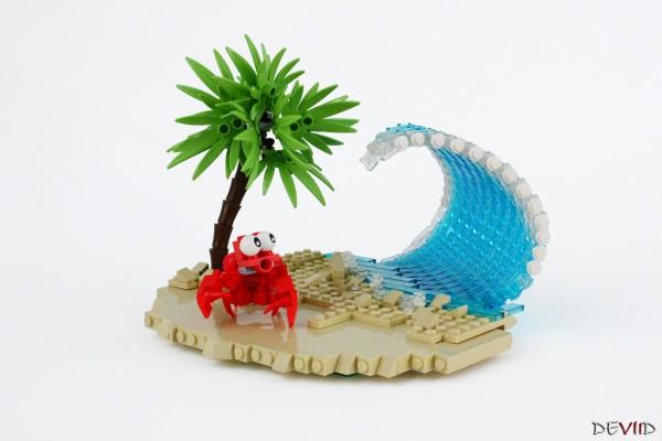 LEGO crabe