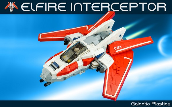 LEGO Elfire Interceptor Starfighter