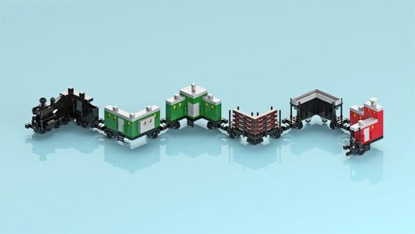 Folded train