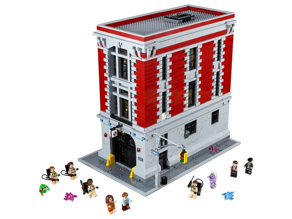 LEGO 75827 Ghostbusters Firehouse Headquarters HD