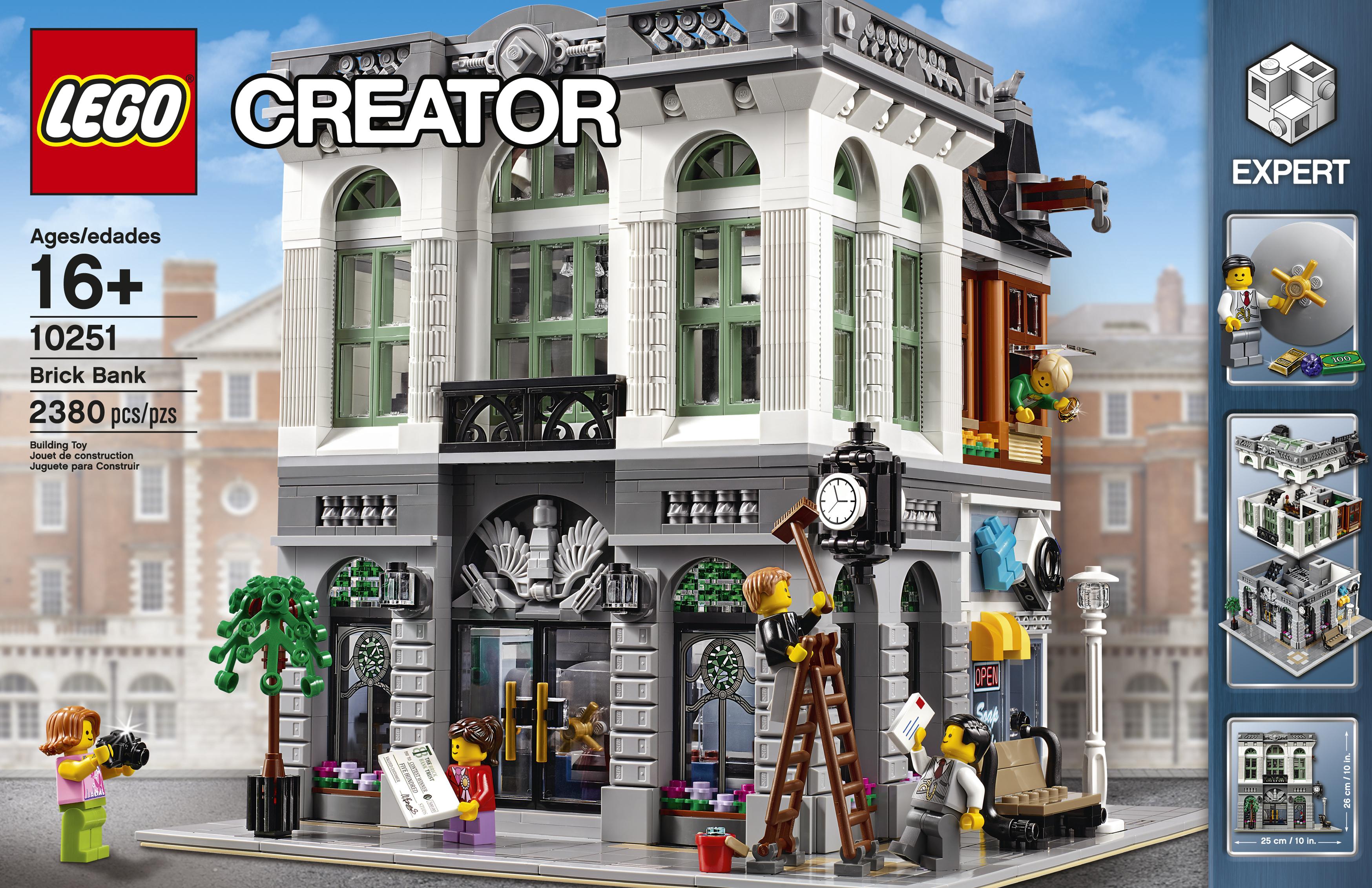 lego creator expert modular 10251 brick bank l 39 annonce. Black Bedroom Furniture Sets. Home Design Ideas