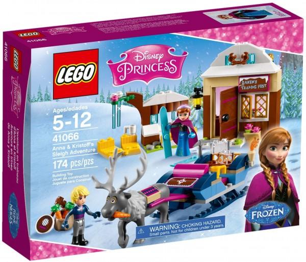 LEGO Disney Princess Frozen 41066 - Anna & Kristoff's Sleigh Adventure 1