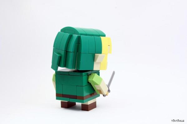 LEGO Link Blockhead back