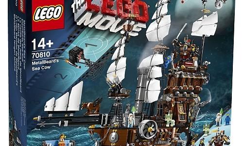LEGO Movie Le lamantin de Barbe d'Acier 70810