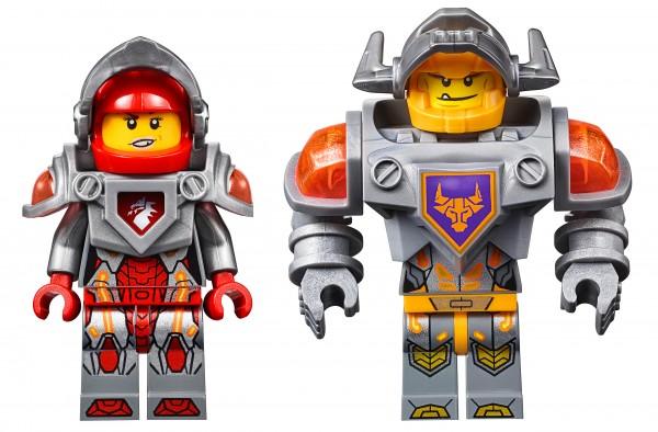 LEGO Nexo Knights minifigs Macy Axl